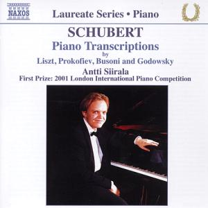 Schubert - Piano Transcriptions / Naxos