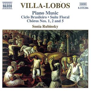 Villa-Lobos - Piano Music Vol. 3 / Naxos
