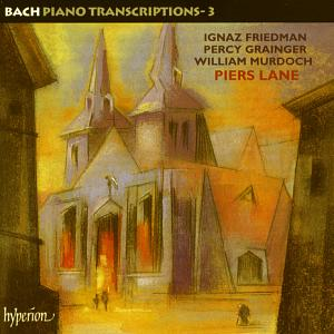 Bach – Piano Transcriptions 3 / Hyperion