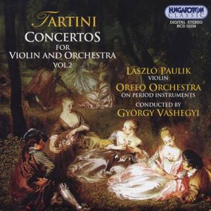 Tartini – Concertos for Violin and Orchestra Vol. 2 / Hungaroton