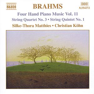 Johannes Brahms – Four Hand Piano Music Vol. 11 / Naxos