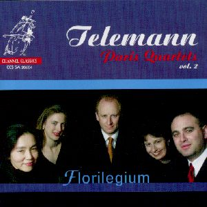 Georg Philipp Telemann, Paris Quartets Vol. 2 / Channel Classics