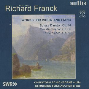 Richard Franck - Works for Violin and Piano / Audite