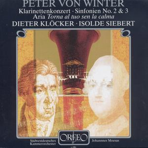 Peter von Winter Klarinettenkonzerte / Orfeo