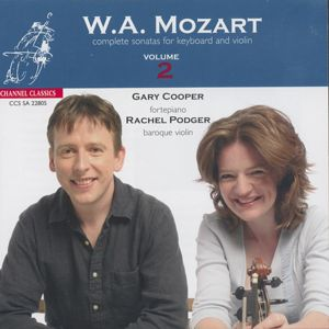 Wolfgang Amadeus Mozart<br />Complete Sonatas for Keyboard and Violin Vol. 2