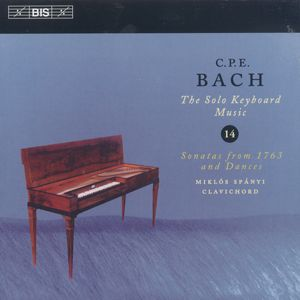 C.P.E. Bach, The Solo Keyboard Music Vol. 14 / BIS