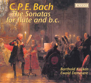 C.P.E. Bach., The Sonatas for flute and b.c / Accent