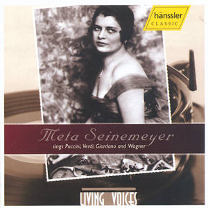 Meta Seinemeyer<br />sings Puccini, Verdi, Giordano and Wagner