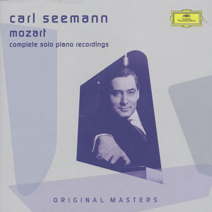 Carl Seemann<br />Mozart – Complete solo piano recordings