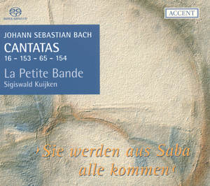 Johann Sebastian Bach, Cantatas for the Complete Liturgical Year Vol. 4 / Accent