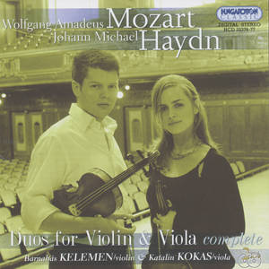 W.A. Mozart – J.M. Haydn<br />Duos for Violin & Viola complete