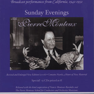 Sunday Evenings with Pierre Monteux