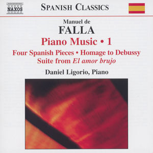 Manuel de Falla<br />Piano Music Vol. 1