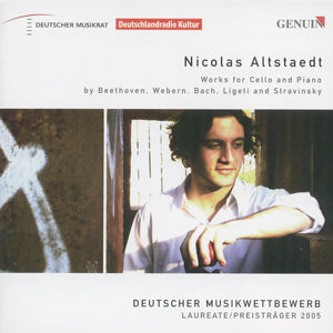 Nicolas Altstaedt Works for Cello and Piano by Beethoven, Webern, Bach, Ligeti and Stravinsky / Genuin