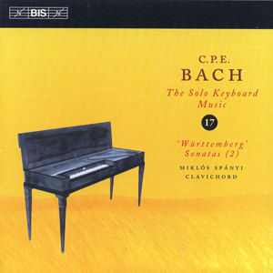 C.Ph.E. Bach, The Solo Keyboard Music Vol. 17 / BIS