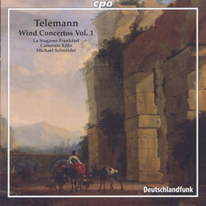Georg Philipp Telemann, Wind Concertos Vol. 1 / cpo