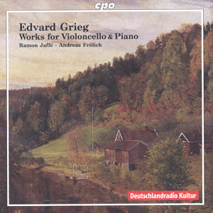 Evard Grieg Works for Violoncello & Piano / cpo