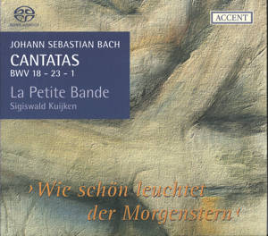 Johann Sebastian Bach, Cantatas for the Complete Liturgical Year / Accent