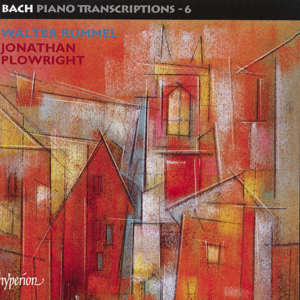 The complete Bach transcriptions by Walter Rummel / Hyperion