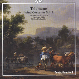 Georg Philipp Telemann Wind Concertos Vol. 2 / cpo