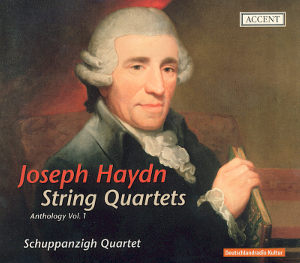 Joseph Haydn String Quartets Anthology Vol. 1 / Accent
