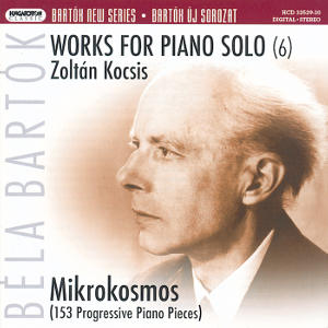 Bartók New Series, Works for Piano Solo (6) / Hungaroton