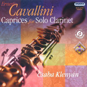 Ernesto Cavallini<br />22 Caprices for Solo Clarinet