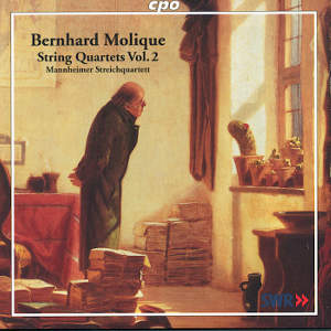 Bernhard Molique String Quartets Vol. 2 / cpo