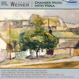 László Weiner, Chamber Music with Viola / Hungaroton
