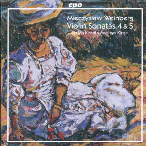 Mieczyslaw Weinberg<br />Works for Violin & Piano Vol. 1