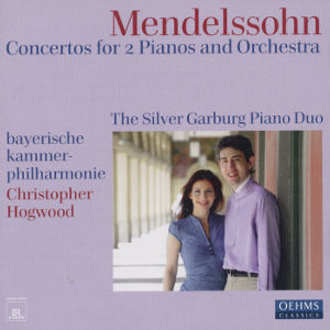 Felix Mendelssohn Bartholdy<br />Concertos for Two Pianos and Orchestra
