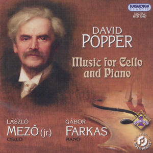 David Popper Music for Cello and Piano / Hungaroton