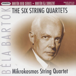 Béla Bartók, The Six String Quartets / Hungaroton