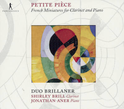 Petite Pièce<br />French Miniatures for Clarinet and Piano
