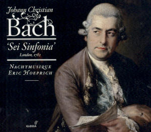 Johann Christian Bach<br />Sei Sinfonia - London 1782