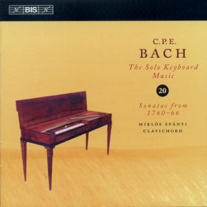 Carl Philipp Emanuel Bach, The Solo Keyboard Music Vol. 20 / BIS
