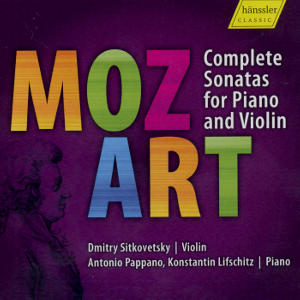 Mozart<br />Complete Sonatas for Piano and Violin