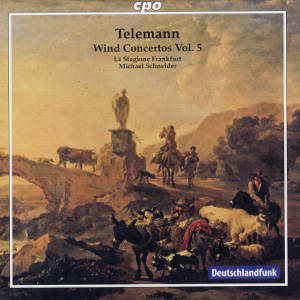 Georg Philipp Telemann, Wind Concertos Vol. 5 / cpo